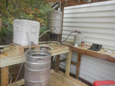 Picture of the brewing components.
